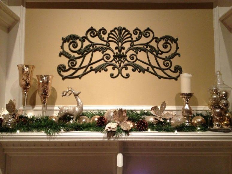 Fabulous Ornament Minimalist Yet Wonderful Artistic Christmas Holida Mantel  With Fireplace Mantel Christmas Decoration.