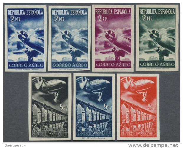 1939, AIRMAILS, , not issued set,