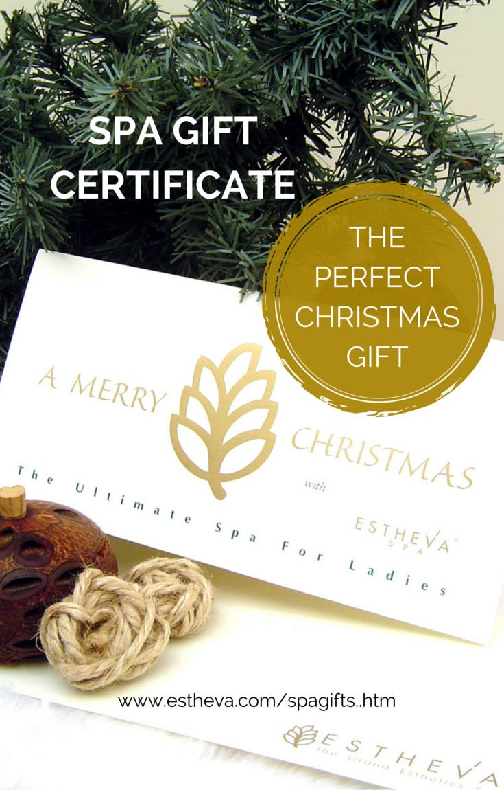 The best christmas gift you can ever give celebrate the spirit spa gift certificate singapore estheva spa gift vouchers are heart warming loving gifts to give and receive online and free gift delivery in singapore xflitez Images