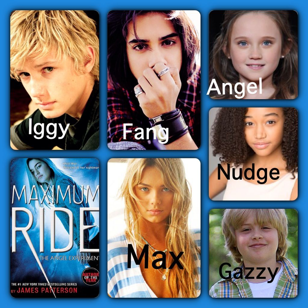 My maximum ride cast angel isabelle allen picture with for The book of life characters names