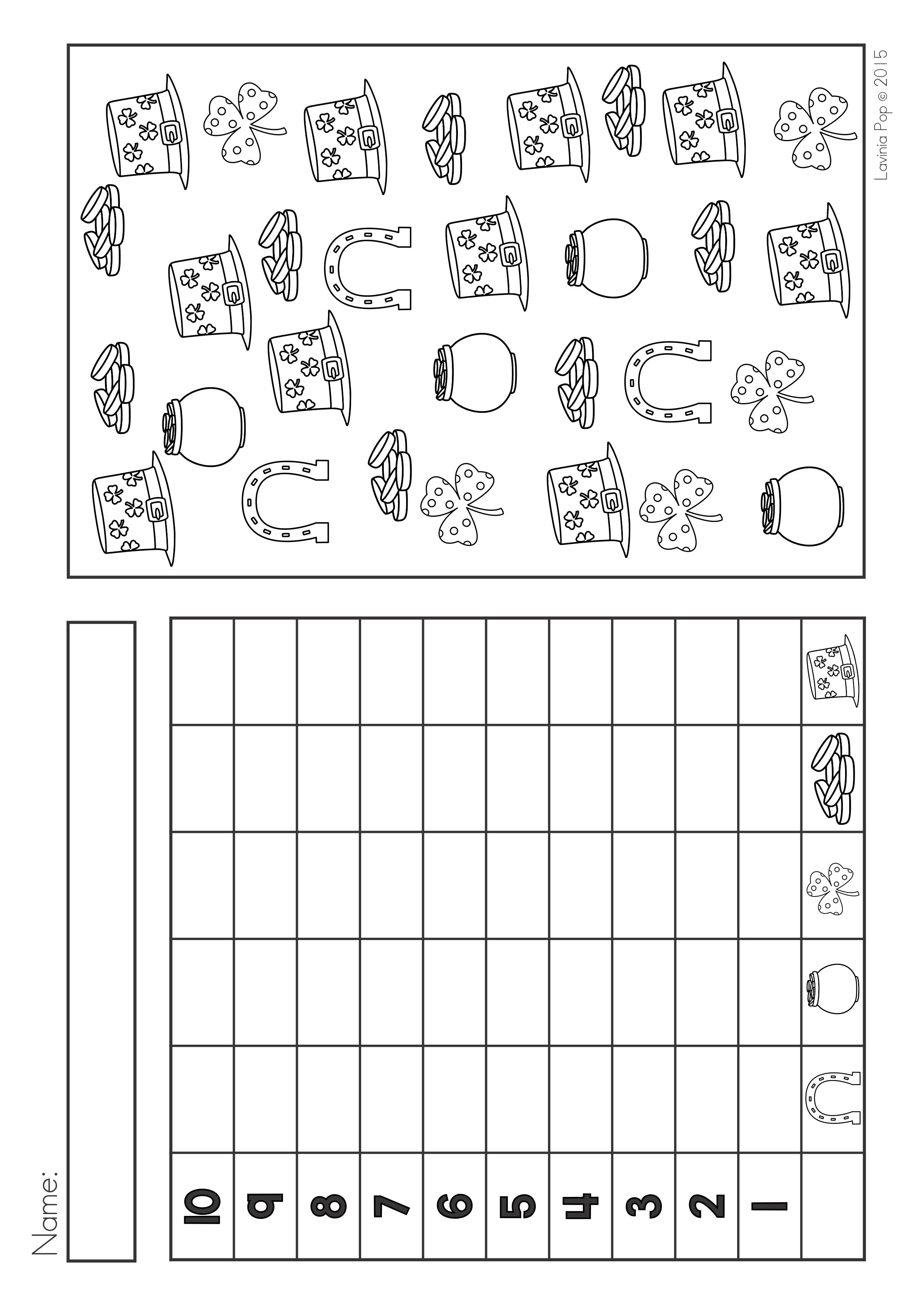 St Patrick S Day Math Amp Literacy Worksheets Amp Activities