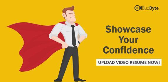 Upload Video Resume Now!   wwwbuzbyte/login Video Resume