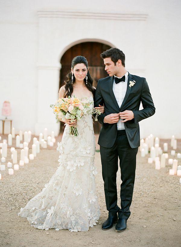 Savor Home: Absolutely Gorgeous...  photo, jose villa;  wedding dress, claire pettibone.