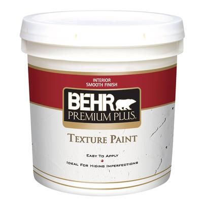 behr premium plus texture paint smooth finish 7 58l on home depot behr paint id=46287
