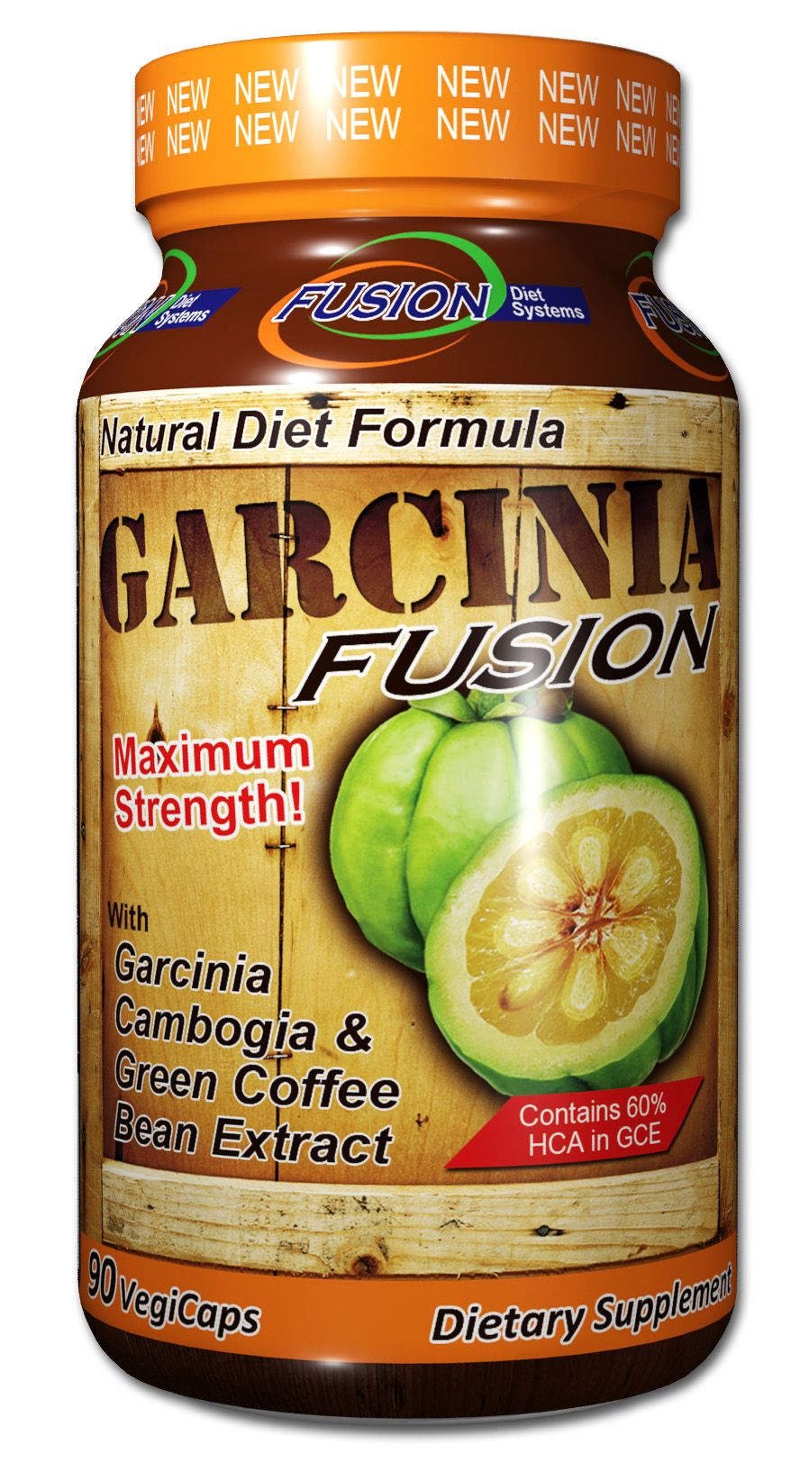 Garcinia Fusion Dietary Supplement, Infused With Garcinia