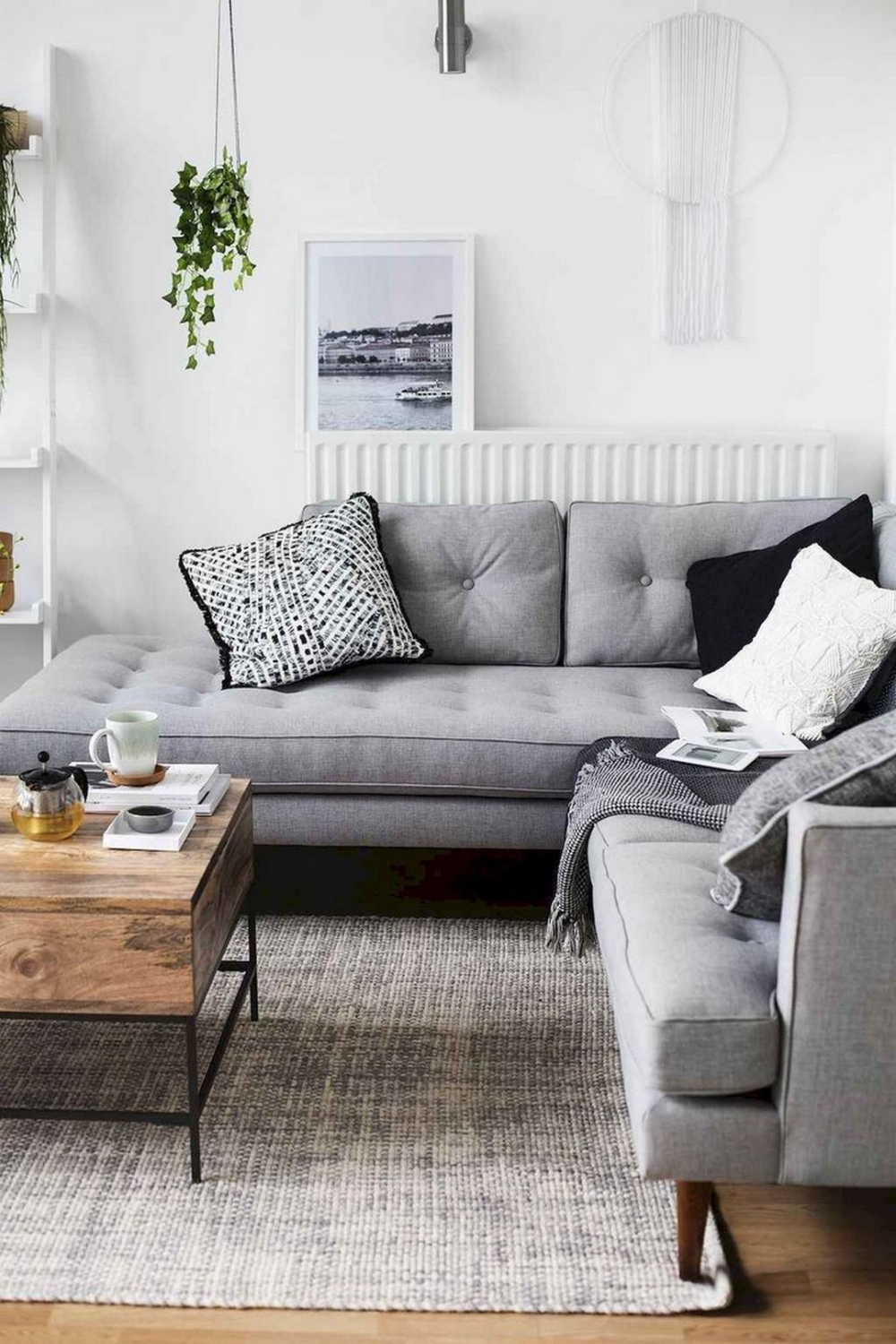6 Gorgeously Minimalist Living Rooms That Find Substance In Simplicity Living Room Scandinavian Small Living Room Decor Fresh Living Room