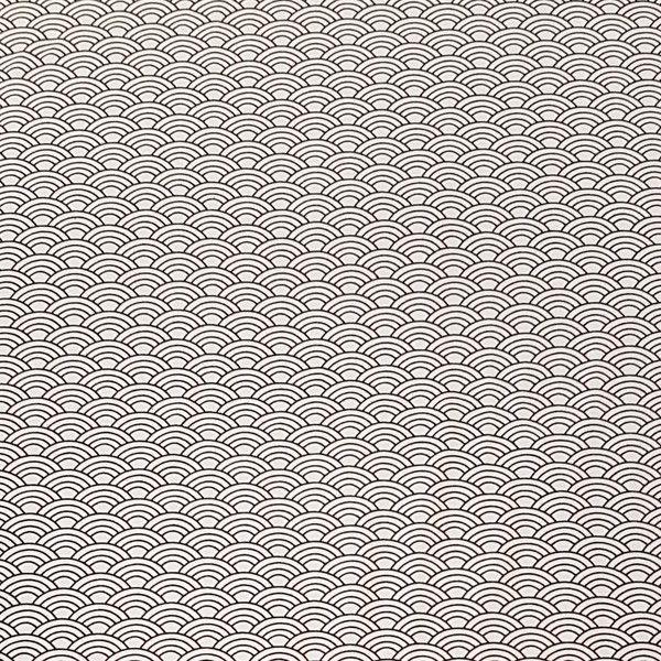 stoff grafische muster jerseystoff wellen ein designerst ck von schickliesel bei dawanda. Black Bedroom Furniture Sets. Home Design Ideas