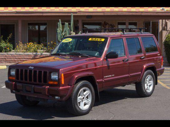 Sport Utility 2001 Jeep Cherokee 4wd 4 Door With 4 Door In Tucson Az 85705 2001 Jeep Cherokee Jeep Cherokee Jeep