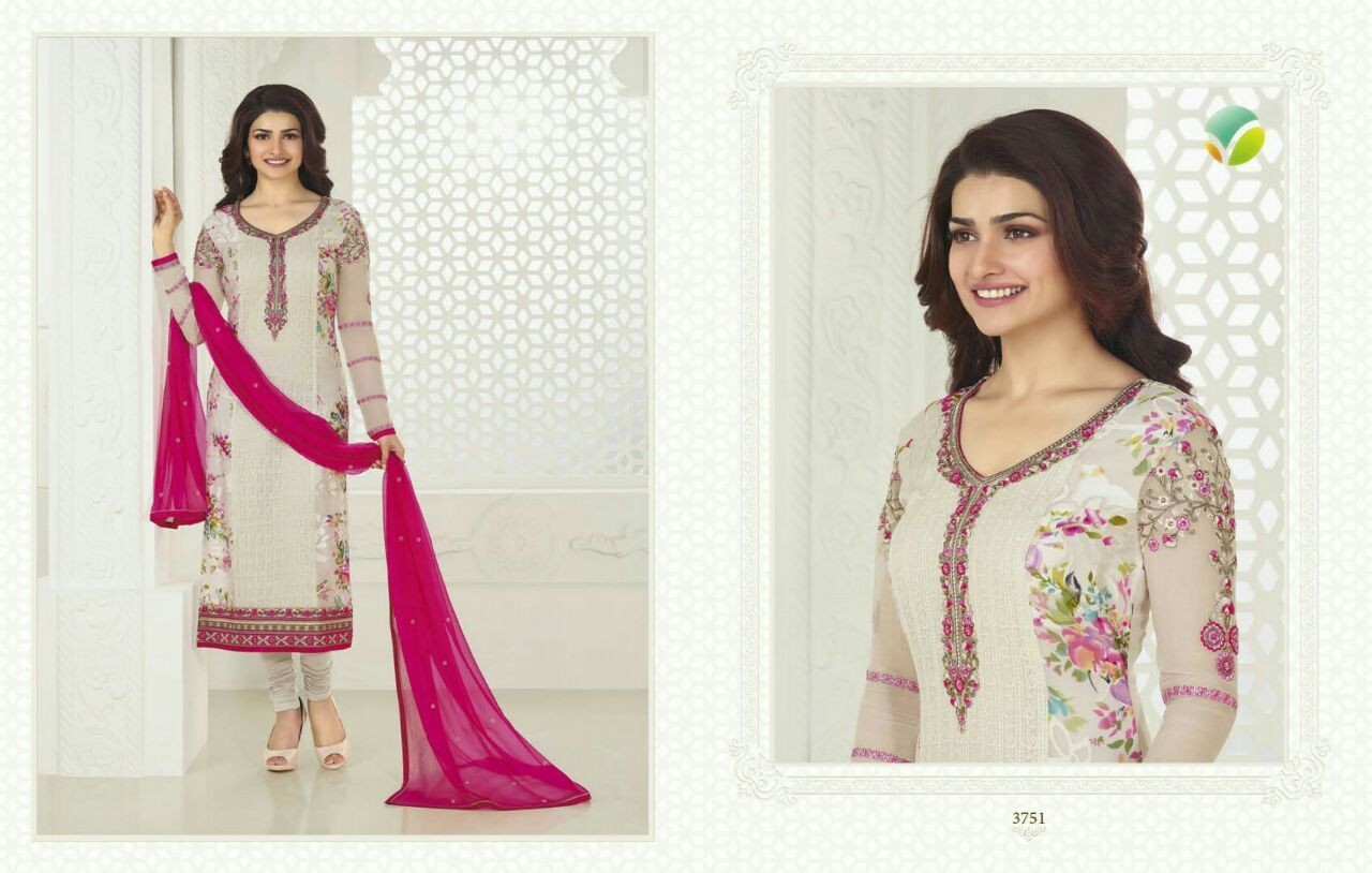 Vinay Fashion Prachi 18 at average price of 1375 Rs only , 7 pcs catlog . Buy online from surat at best possible price , Book your Catlogs from www.Pfashionmart.com  BRAND Vinay Fashion Prachi