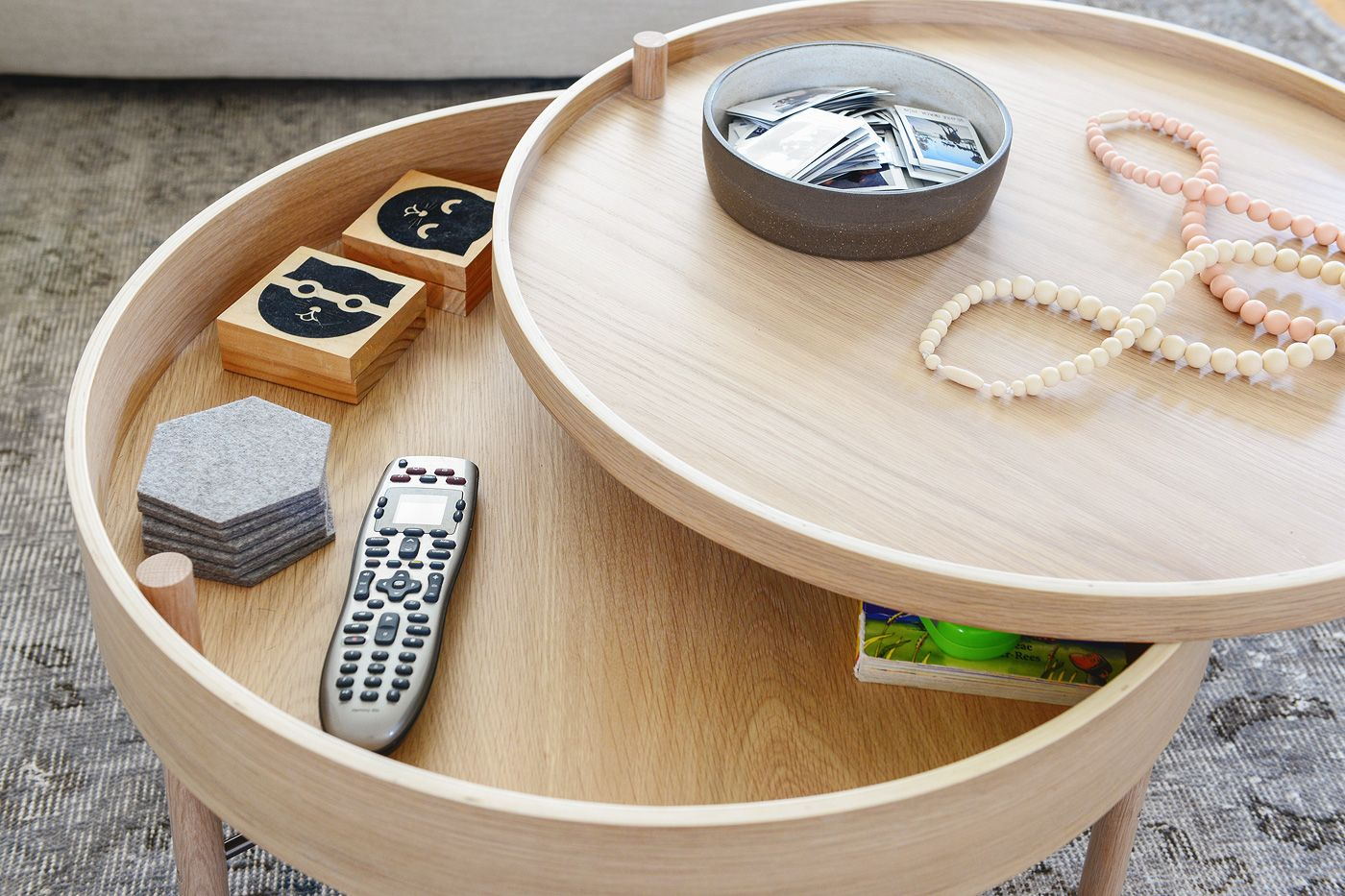 30 Coffee Tables For When You Re Short On Space Coffee Table Small Space Small Coffee Table Table For Small Space [ 933 x 1400 Pixel ]