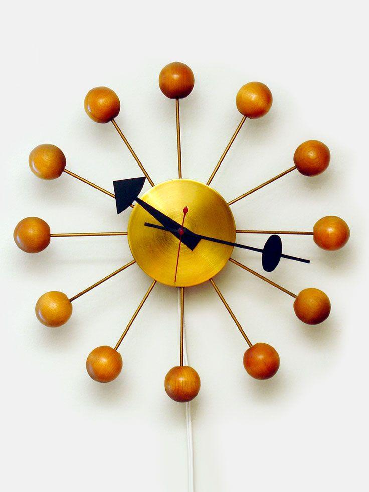 Original Ball Clock George Nelson For Howard Miller 1947