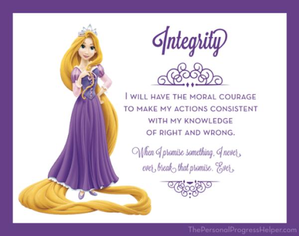 Young Women Value Disney Princess Posters | Integrity: Rapunzel