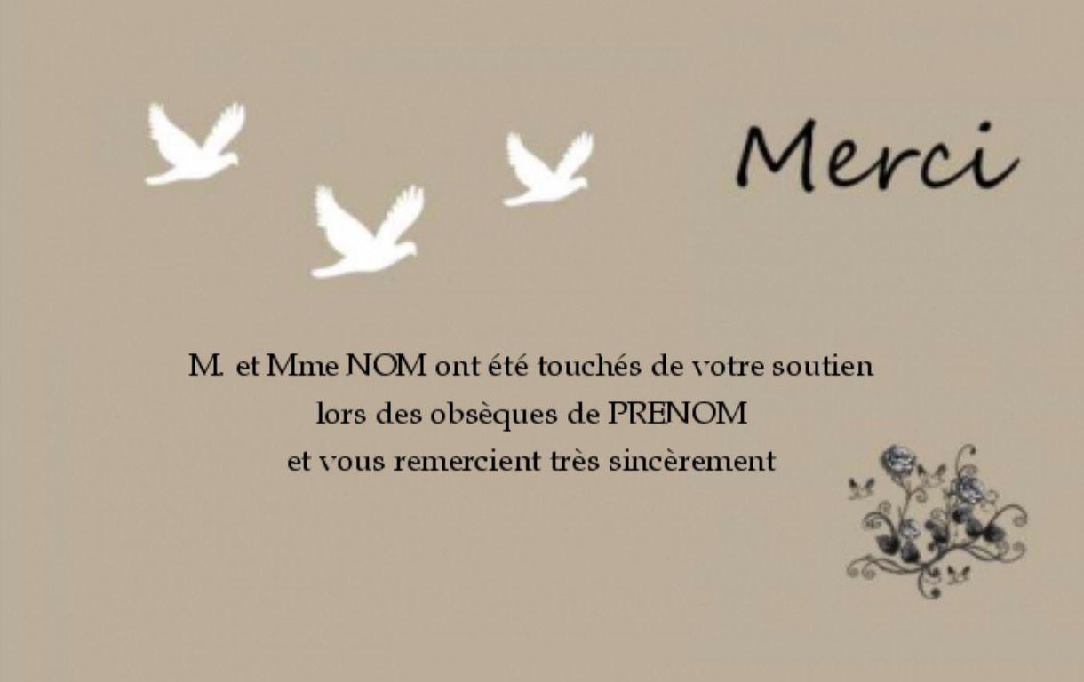 carte remerciement deces gratuit Modèle Carte de Remerciement Décès Gratuit | fond bleu Vert (avec