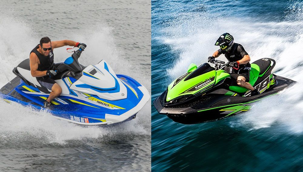2019 Yamaha Waverunner Gp1800r Vs Kawasaki Jet Ski Ultra 310r By