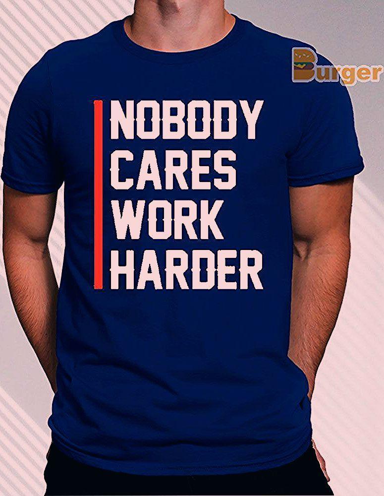 Photo of nobody cares work harder lamar jackson T-Shirt – Unisex Tee