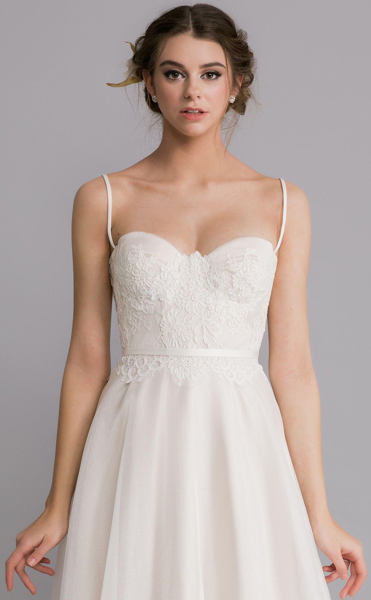 Corset Bodice Wedding Dress Josephine By Caleche