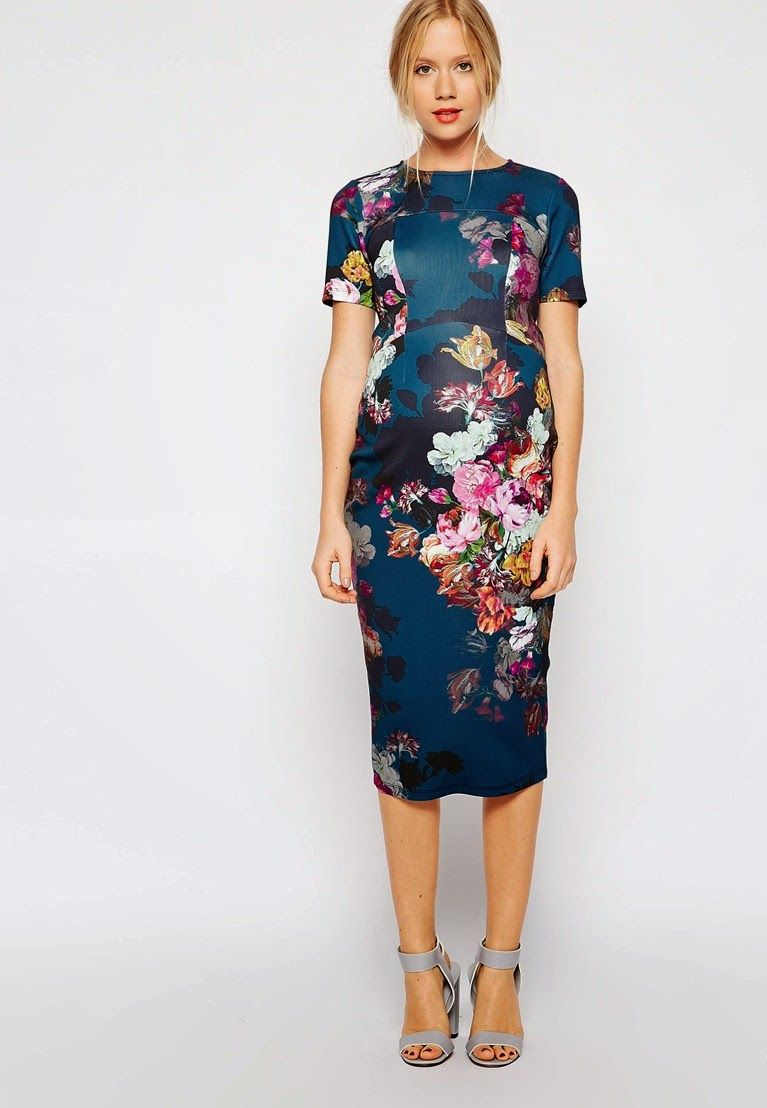 In Bloom: Floral Maternity Dress Finds | Sleeve, Hijab fashion and ...