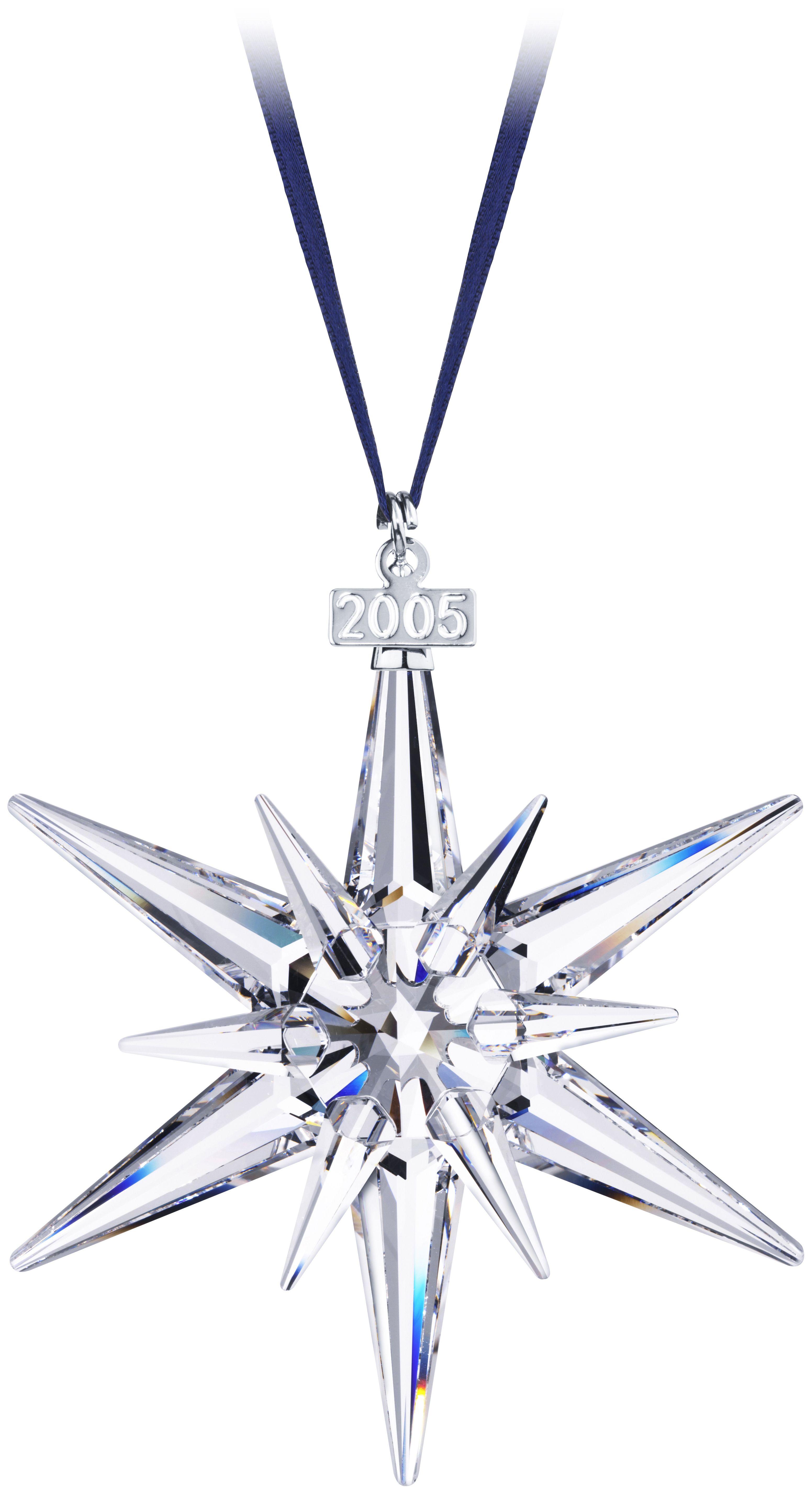 2005 - STAR - Large Star - blue ribbon. | Swarovski ...