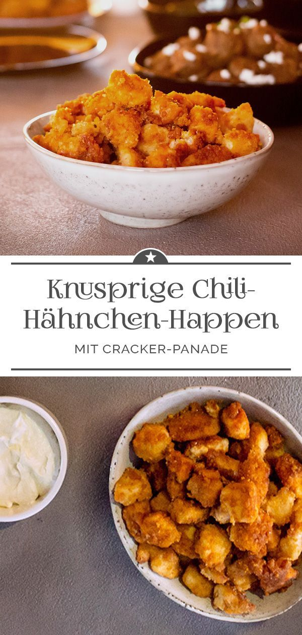 Photo of Crunchy chilli-chicken bites – A little pinch of Anna