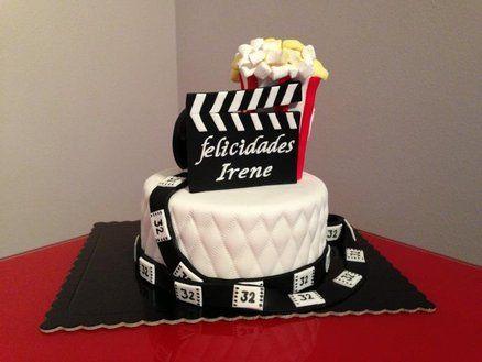 Cinema Cake By Dulceycia Cakesdecor Com Cake Decorating