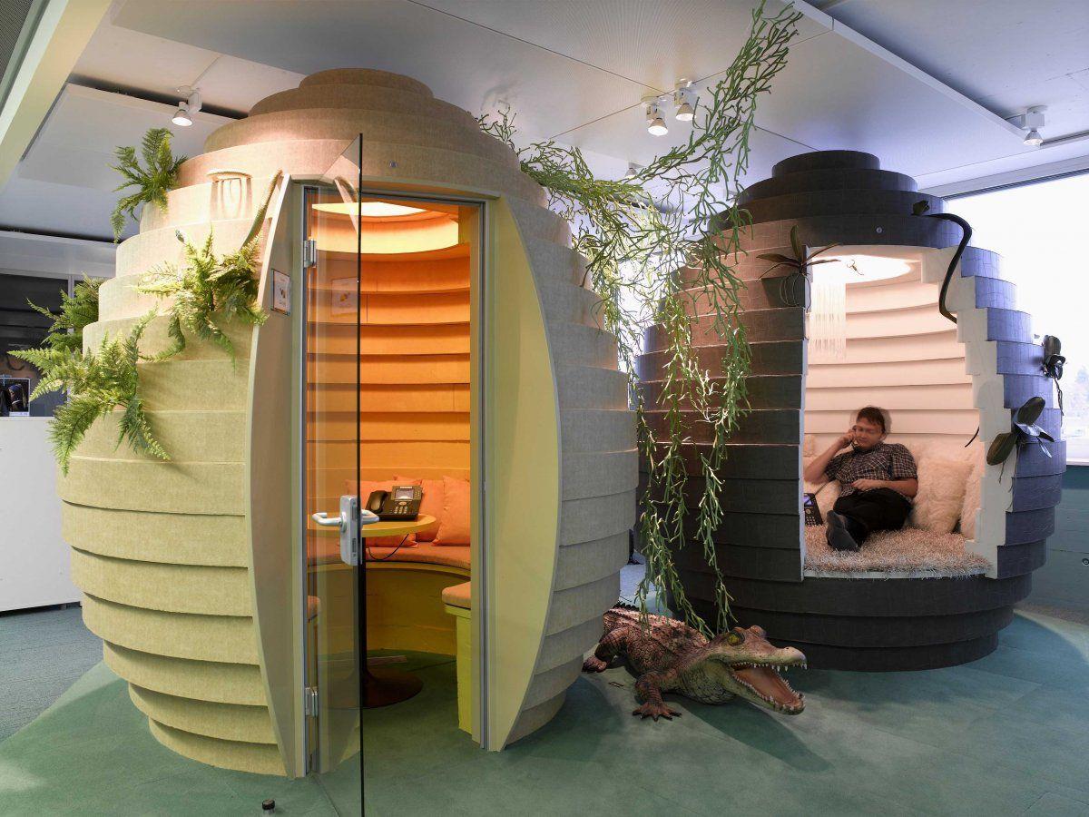 google office furniture. Egg-shaped Pods For Quiet Work At Google\u0027s Zurich Office Google Furniture C