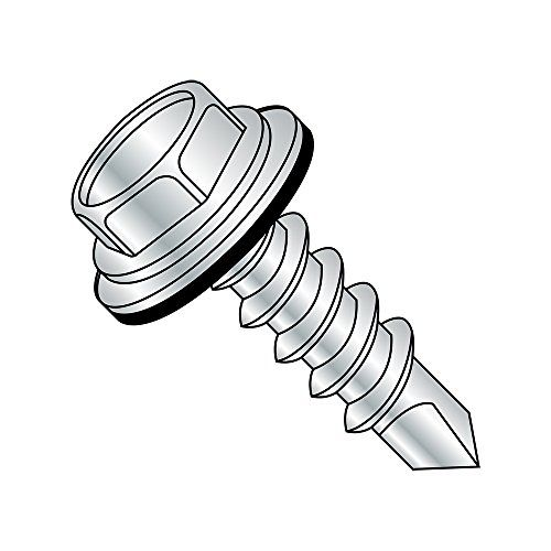 Pack of 50 Phillips Drive #6-19 Thread Size 1//2 Length Black Zinc Plated Pan Head Steel Thread Rolling Screw for Plastic