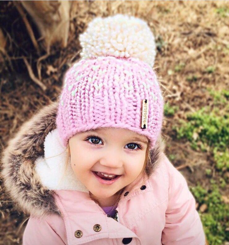 83ce5c96f2e Toddler girl winter hat