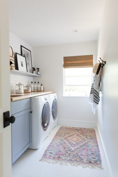 Photo of Real Life Rooms: Basic Laundry Room Makeover to Add Storage and Character