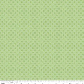 Small Tone on Tone Dots Green  Riley Blake by LemonTreeFabrics, $5.00
