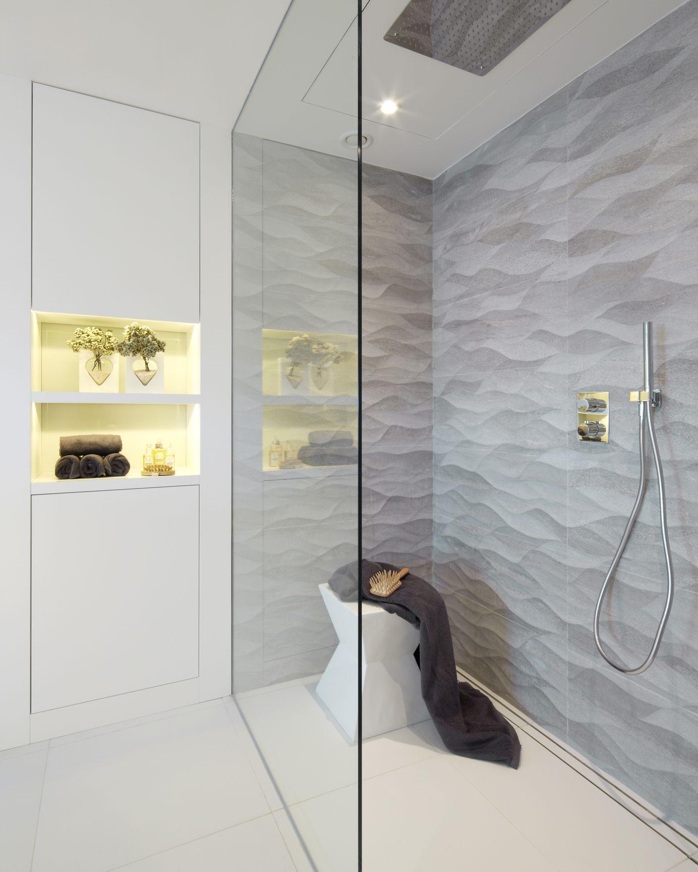 Molins interiors arquitectura interior interiorismo - Hornacina bano ...