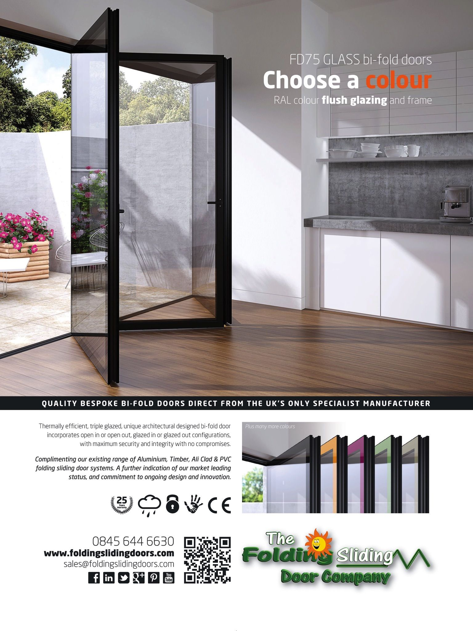 The Folding Sliding Door Company Advert From Free Issue, Http://itunes.