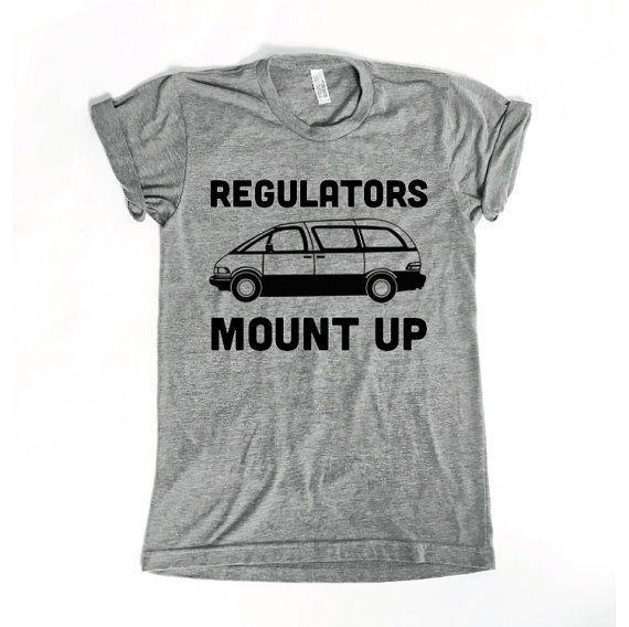 1dd650cf8 Funny Womens Shirts. Regulators Mount Up MINIVAN Tee. Gift for Women ...