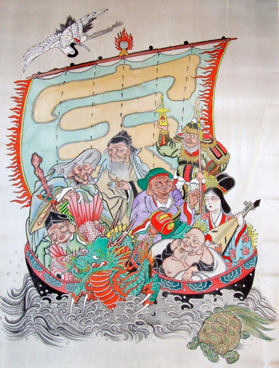 The Seven Lucky Gods Japan S