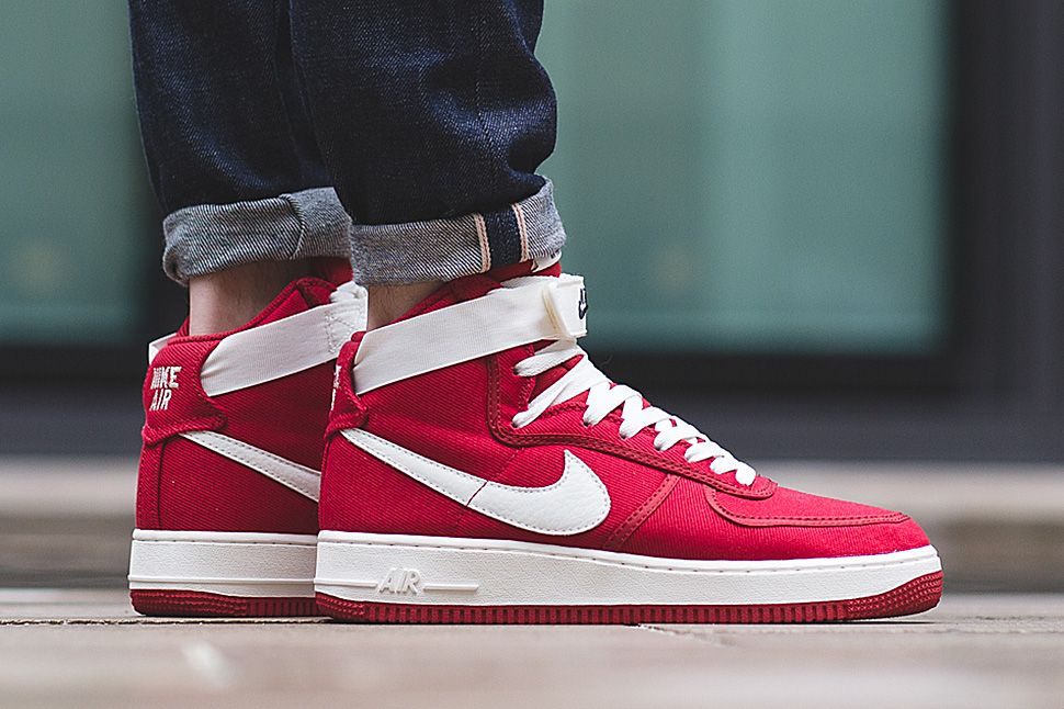 nike buty air force 1 high 07 gym red \/ white nike