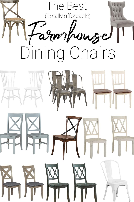32++ Cheap farmhouse dining chairs model