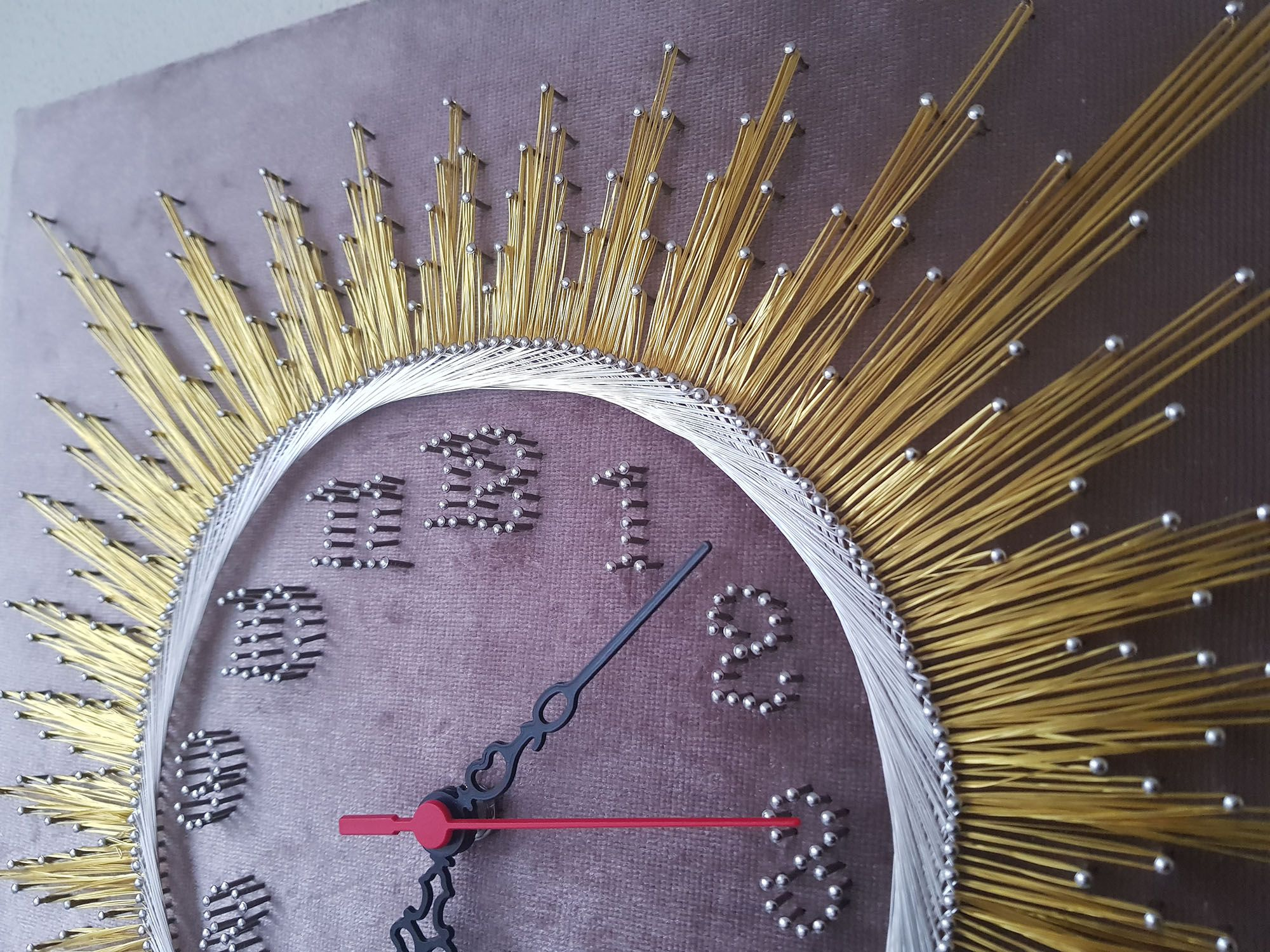 Pin On String Art Clocks