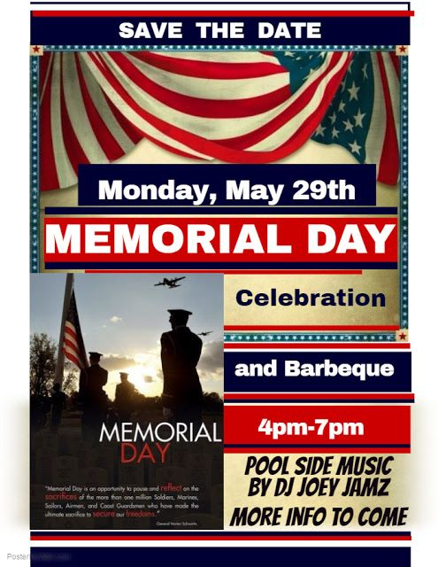 memorial day flyer template free free memorial day invitation ...
