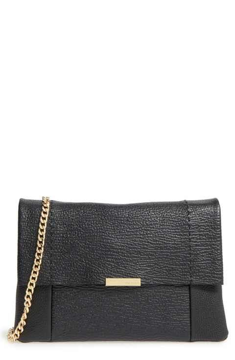 bd60ae92f Ted Baker London  Parson  Pebbled Leather Crossbody Bag
