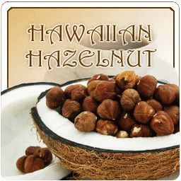 Coconut & Hazelnut Try the Hawaiian Hazelnut for flavors of warm toasted hazelnuts wrapped in cream and swirled into a cup of fresh roasted coffee. Need we say more? So take a long slow steady sip of