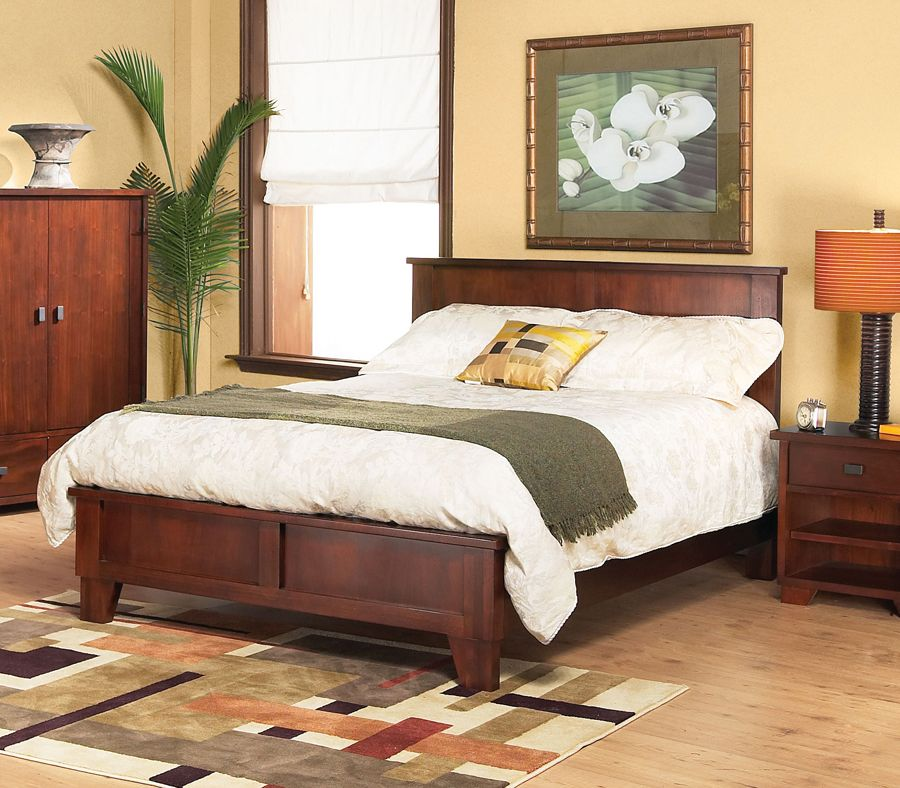 The Canyon Collection. Features Tropical Mahogany