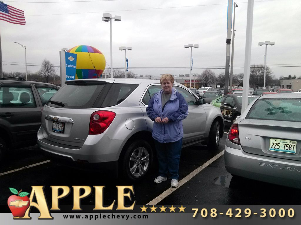 Congrats To Karen Finn On The Purchase Of Her New 2013 Chevy
