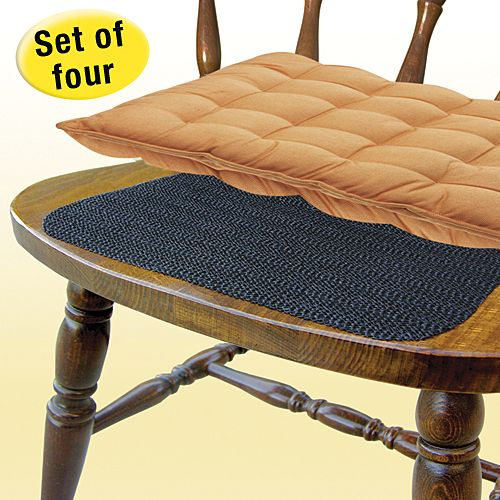 keeps chair cushions from slipping the discreet, non-slip mat is a