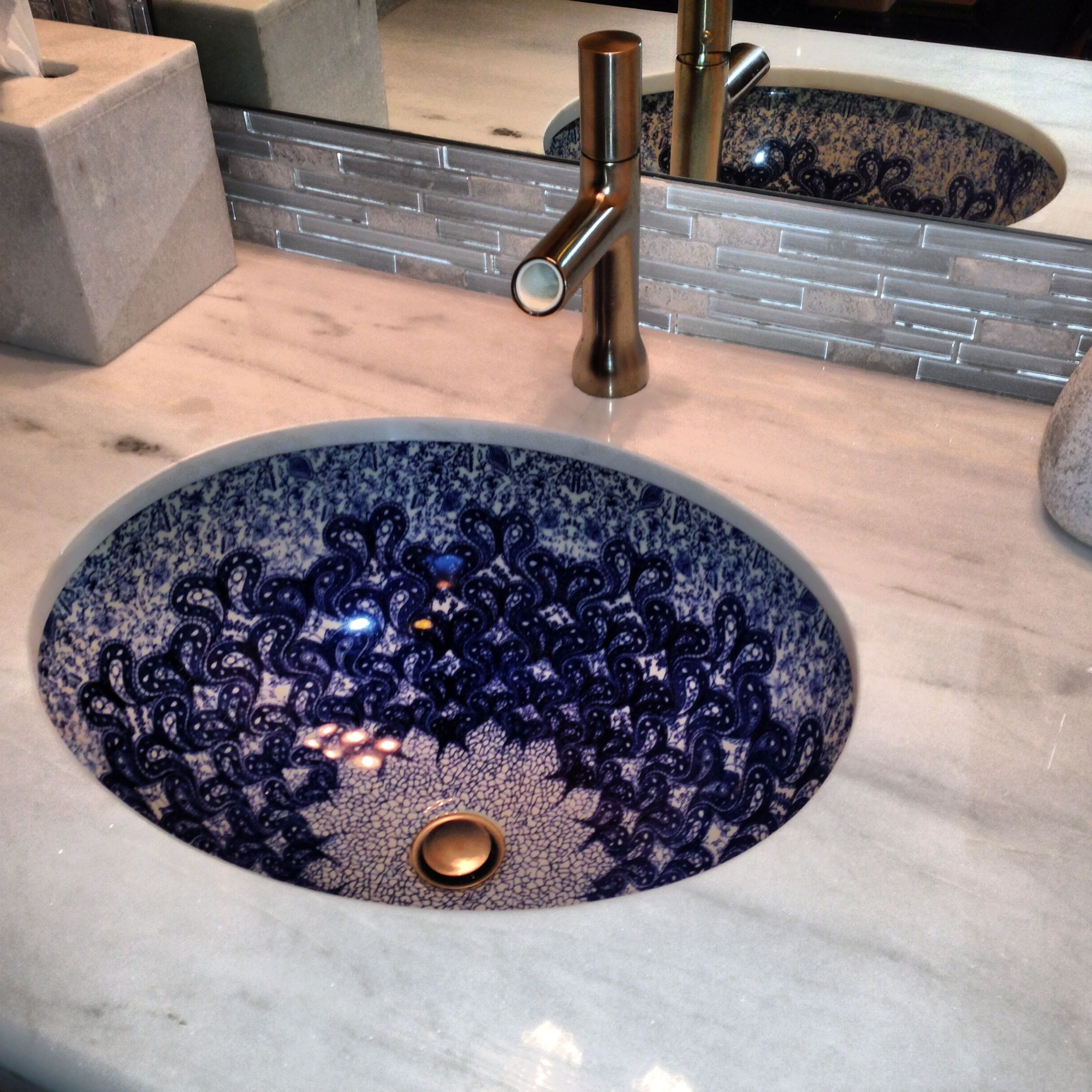 I am imagining this sink but with Polish Pottery. #polishpottery ...