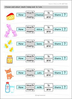 printable worksheets for esl kids there is are english preschool