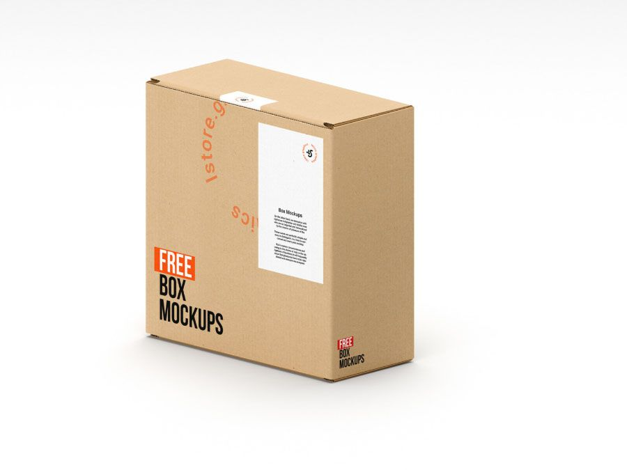 Download 7 Free Psd Box Mockups Free Design Resources Box Mockup Free Mockup Free Boxes