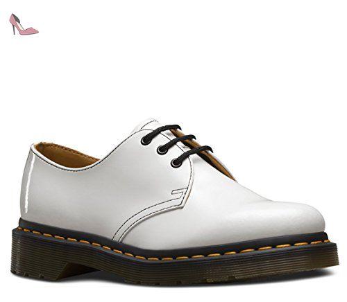 Martens Femme 1461 Chaussures Blanc Dr aBwCTq0w