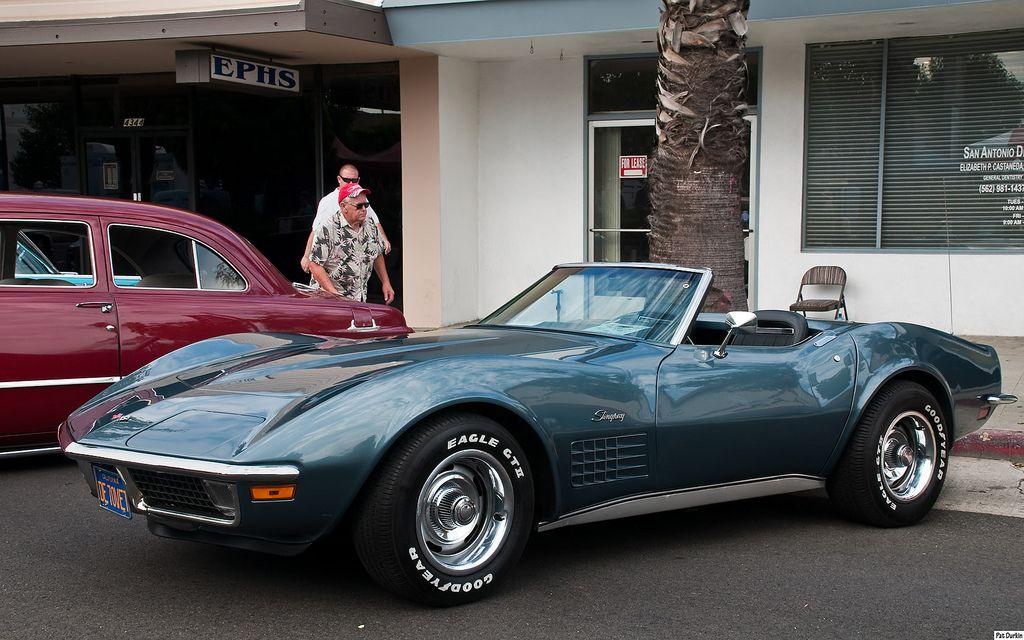 1970 Chevrolet Corvette Stingray Laguna Gray Poly Fvl Chevrolet Corvette Stingray Corvette Stingray Chevrolet Corvette