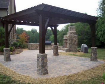 Cost To Build Outdoor Kitchen Build Outdoor Kitchen Hot Tub Patio Patio