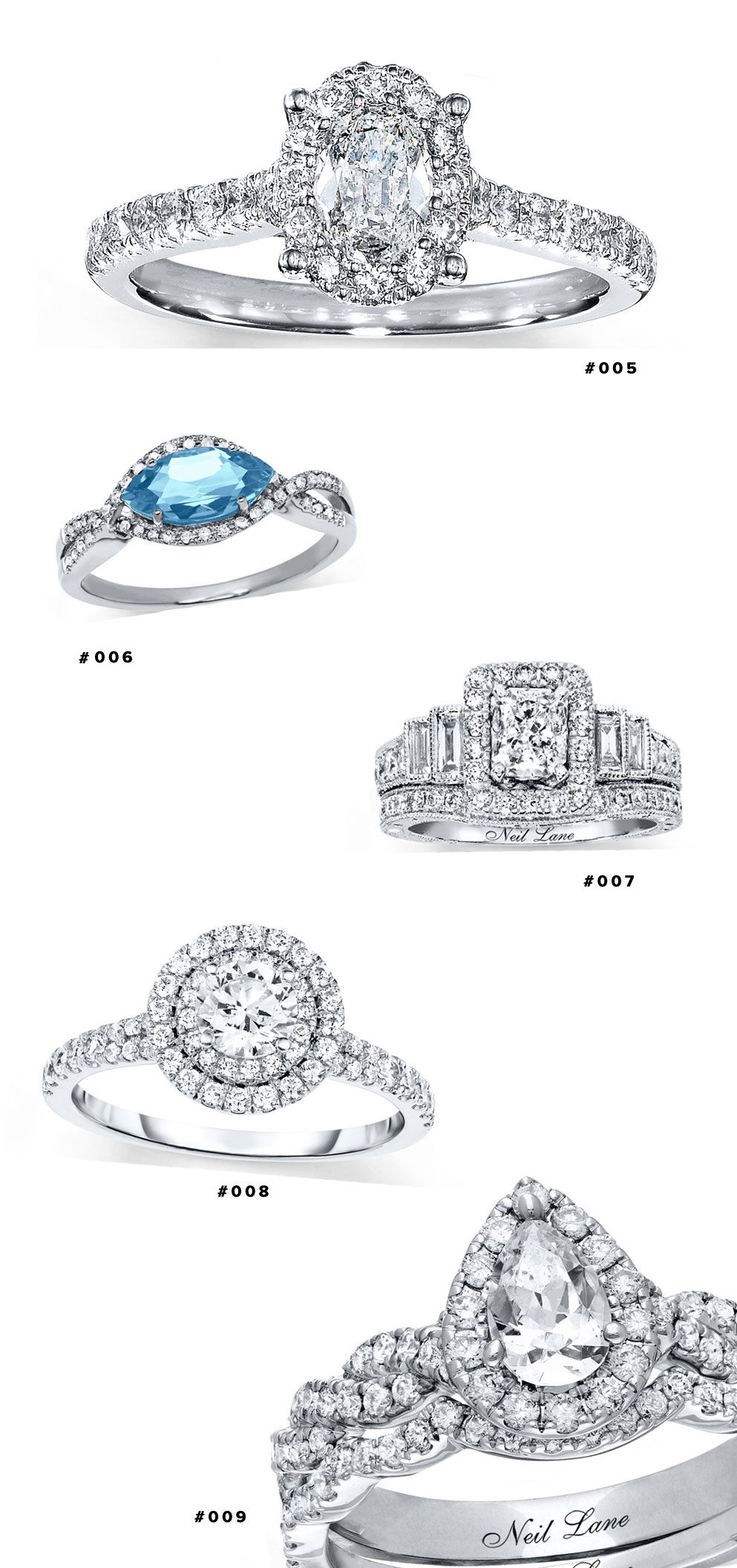 10 Bridal Ring Styles to Drool Over