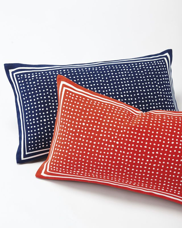 Dot Outdoor Pillow Cover - Serena & Lily Site